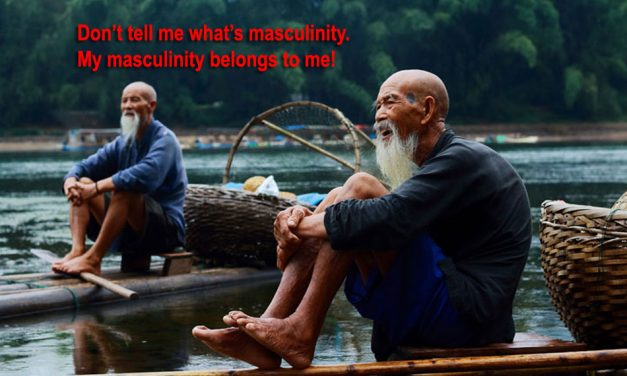 Adult Female Defines Masculinity